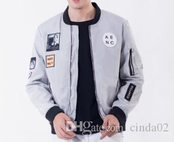 c646cdc0a77 New Style Men Bomber Jacket Hip Hop Patch Designs Slim Fit Pilot Bomber  Jacket Coat Men Jackets Size M 4XL Fashion Jacket Mens Jacket Styles From  Cinda02