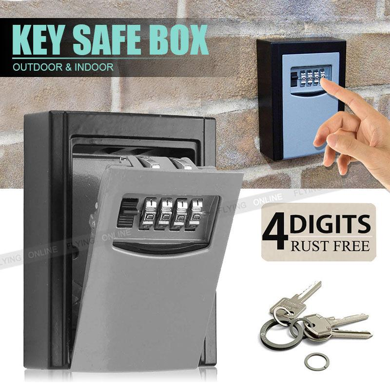 2018 Outdoor High Security Wall Mounted Key Safe Box Code Secure Lock Storage 4 Digit Combination Safe Outdoor Security From Snoopy710 $37.39 | Dhgate.Com & 2018 Outdoor High Security Wall Mounted Key Safe Box Code Secure ...