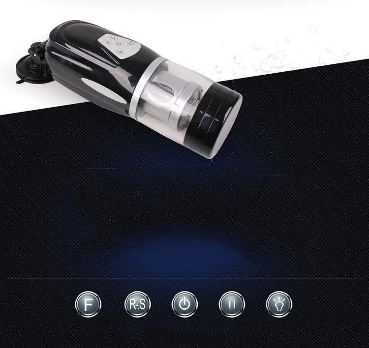 New Easy Love Telescopic Lover 2 Automatic Sex Machine Rotating and Retractable Electric Male Masturbators Sex Toys for Men