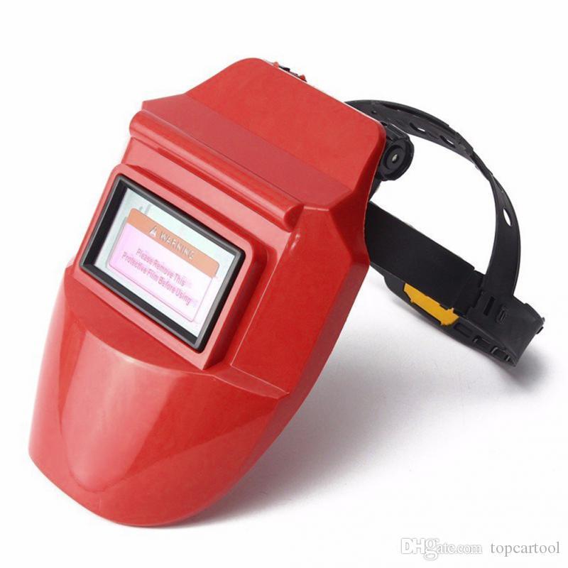 Auto Escurecimento Soldagem Capacete Capacete Máscara Lentes Solar Powered Capacete Cap / máscara de Soldagem ferramentas