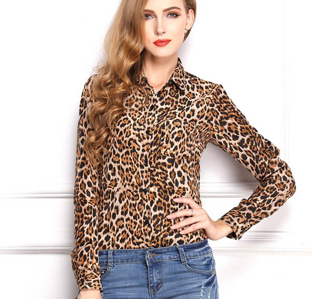 3c63dff24d946 Compre Nuevo Diseño Blusas De Gasa Para Mujer Para El Trabajo Y Camisas  Casuales Para Mujer Blusas Turn Down Cuello Manga Larga Blusas Para Mujer  Tallas ...