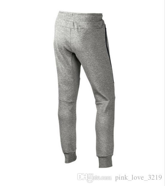وصفت عالية الجودة التكنولوجيا الصوف عارضة الحريم sweatpants السراويل الرياضية السراويل سروال الرجال تراكسويت القيعان ل مسار التدريب الركض
