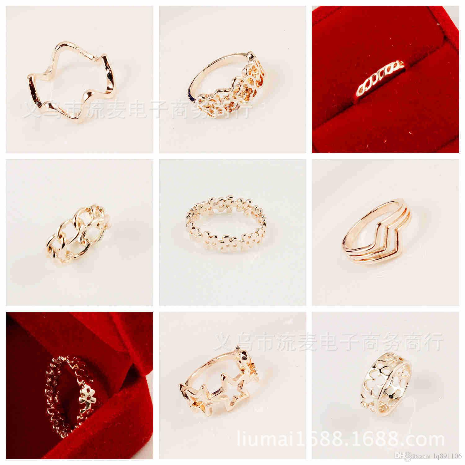 plating dhgate sterns from new flower love fashion dubai product colors of star wedding series harvest rings pandahood com