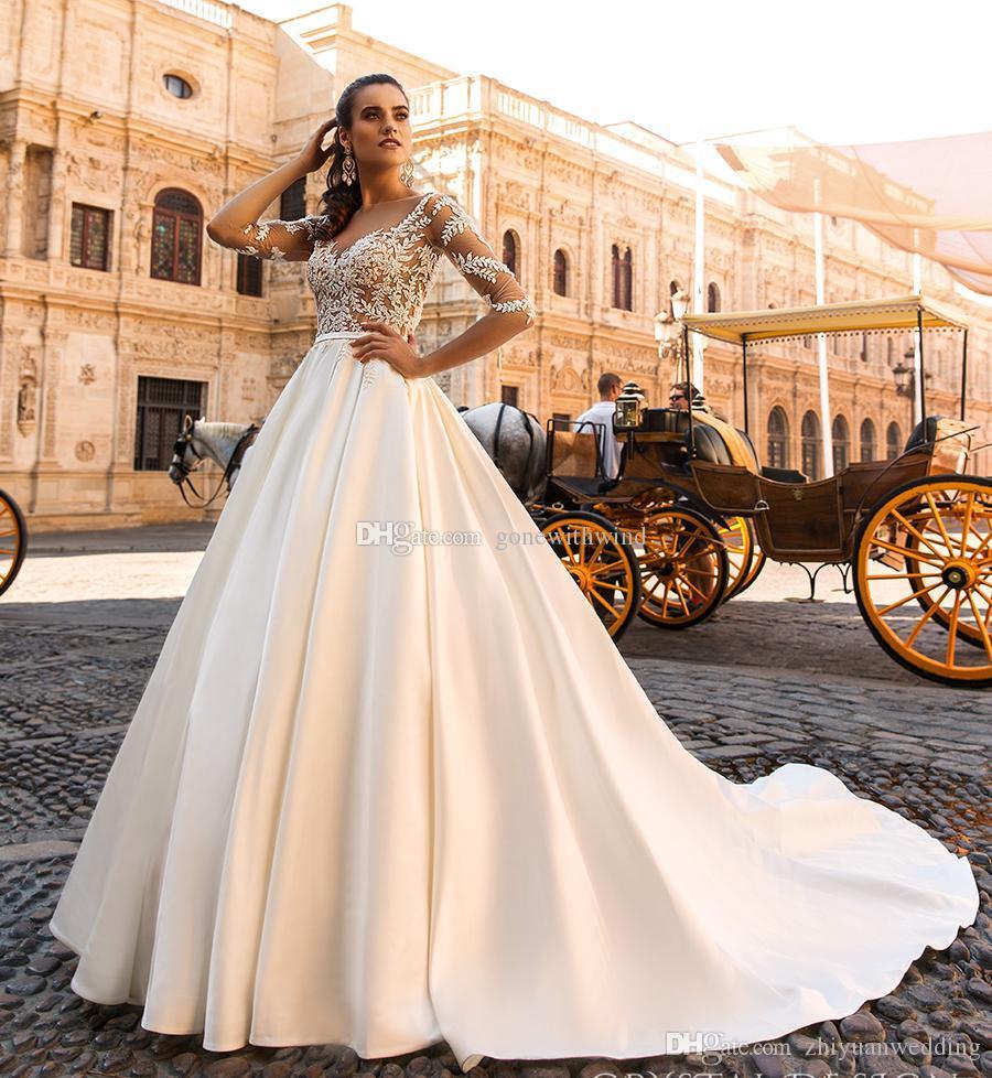 Vestidos noiva china 2017 crystal design bridal mangas de trs ver imagem maior junglespirit Images