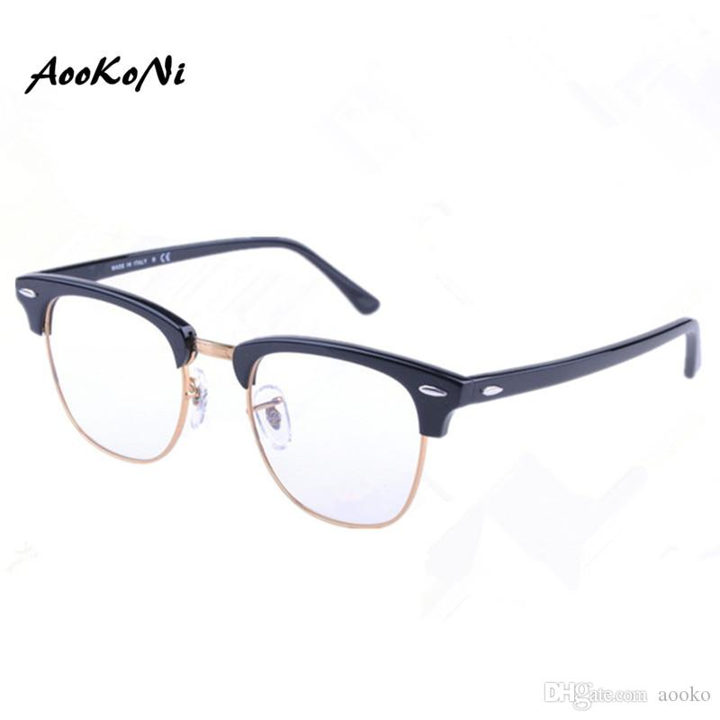 3dc3d7bafe 2019 In Men Women Club Optical Glasses Master Frame Designer Eyeglasses  Master Reading Glasses Prescription Computer Eyewear 49mm 51mm From Aooko