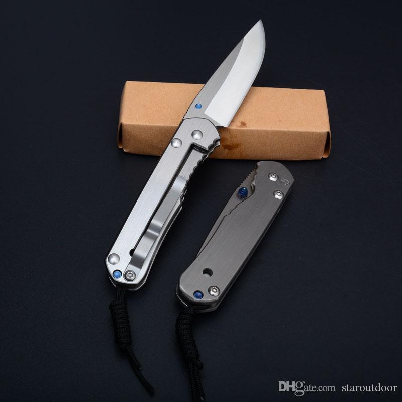 Nuevo Chris Reeve Sebenza 21 Cuchillo plegable táctico 440C Full Steel Satin caza al aire libre caza de supervivencia Utilidad EDC Tools Collection