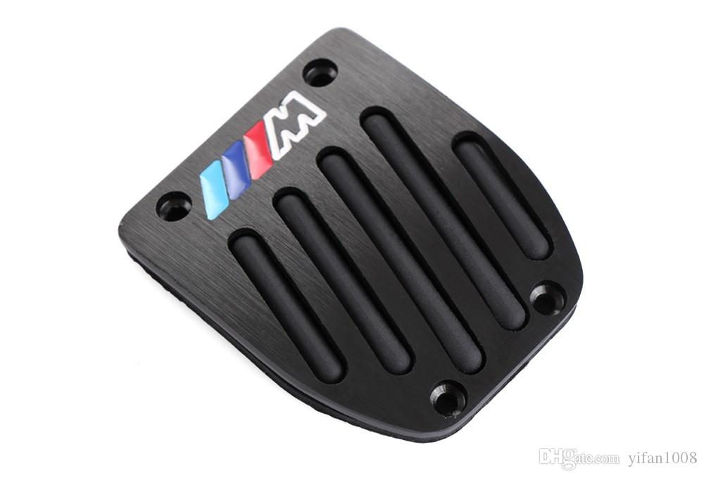Car-Styling Haute qualité Alliage d'aluminium Reste Pédale de gaz Pédale de frein pour BMW X1 M3 E39 E46 E87 E84 E90 E91 E92