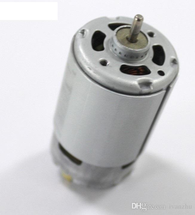 Normale Welle 550 Gleichstrommotor, 12 V Mikro-Gleichstrommotor, hohe Drehzahl, Schaft mit 3,175 Durchmesser, DIY-Bohrmotor