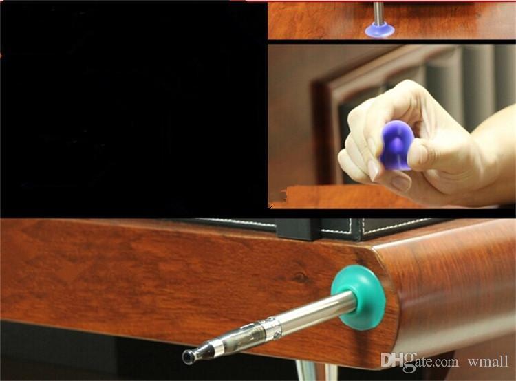 Silicone Suckers Ego / Sucker Base / ego Ventouse / ego Support / ego Portable E Présentoirs cig coloré en caoutchouc Caps Pen Holder gratuite DHL