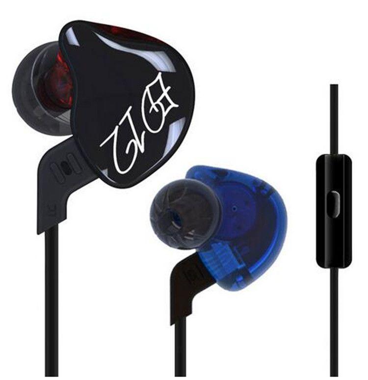 come ottenere nuovo economico forma elegante KZ ED12 HiFi Auricolari Tappi per le orecchie Auricolari staccabili per  cavi Auricolari per musica Isolamento acustico Auricolari Cuffie per basso  ...