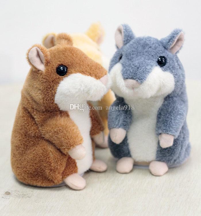 Reizendes sprechendes Hamster-Plüsch-Spielzeug-heißes nettes sprechen sprechendes Tonaufzeichnungs-Hamster-sprechendes Spielzeug für Kinder 15cm / 6 Zoll C2027