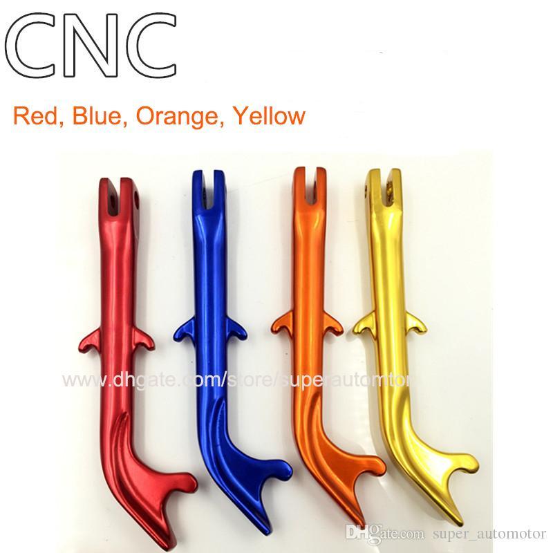 Hohe Qualität YAMAHA MSX125 BWS125 TMAX530 EXCITER150 Z125 Motorcylce Seitenständer Kick Ständer Blau Gelb Rot Orange