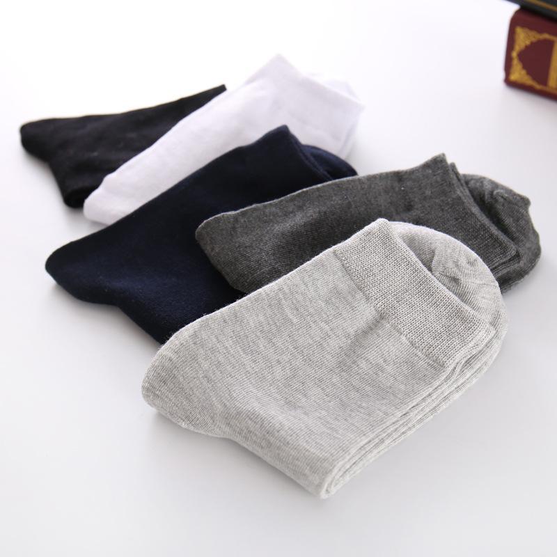 Erkekler Çorap Çorap Erkekler Bahar Düz Renk erkek Çorapları Uzun Beyaz Iş Erkek İnsan Calcetines Hombre Meias Homens