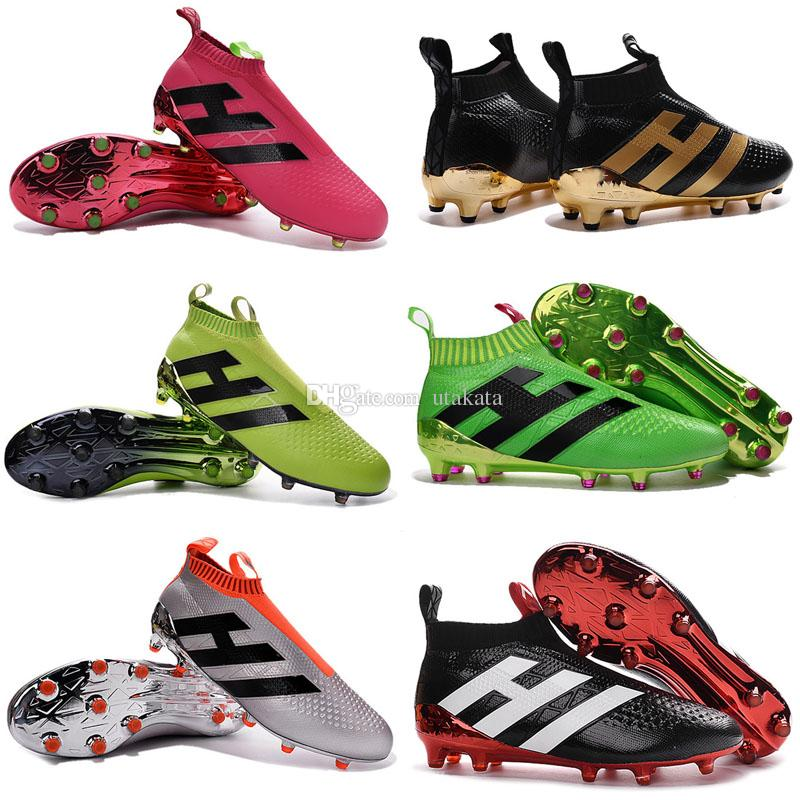 835bb96797d0 Laceless Youth Soccer Cleats Ace 16+ Purecontrol Soccer Boots Pure ...