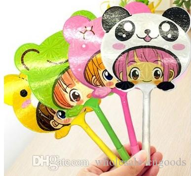 factory sells South Korea's new multicolored creative stationery cartoon animal cute fan model custom ballpoint pen