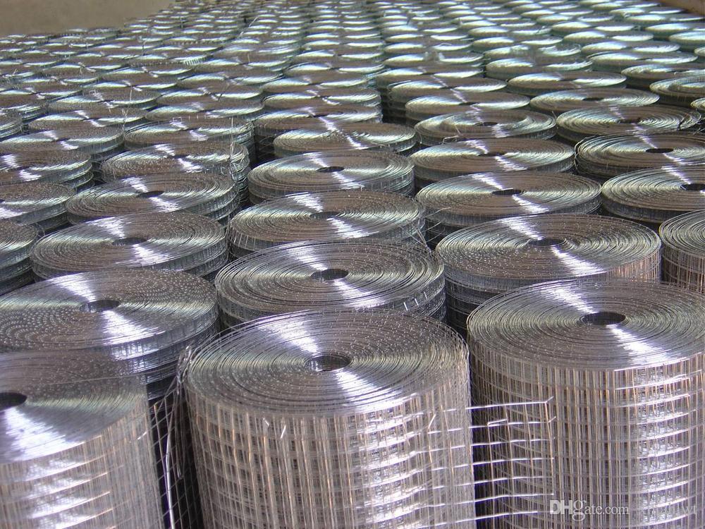 2017 Factory 16 Gauge Galvanized Welded Wire Mesh Rolls Stainless ...