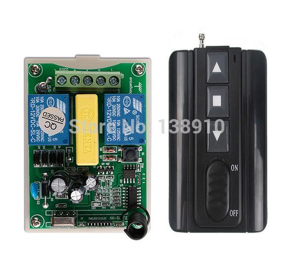 Wholesale Ac220v 2ch Wireless Remote Control Motor Positive