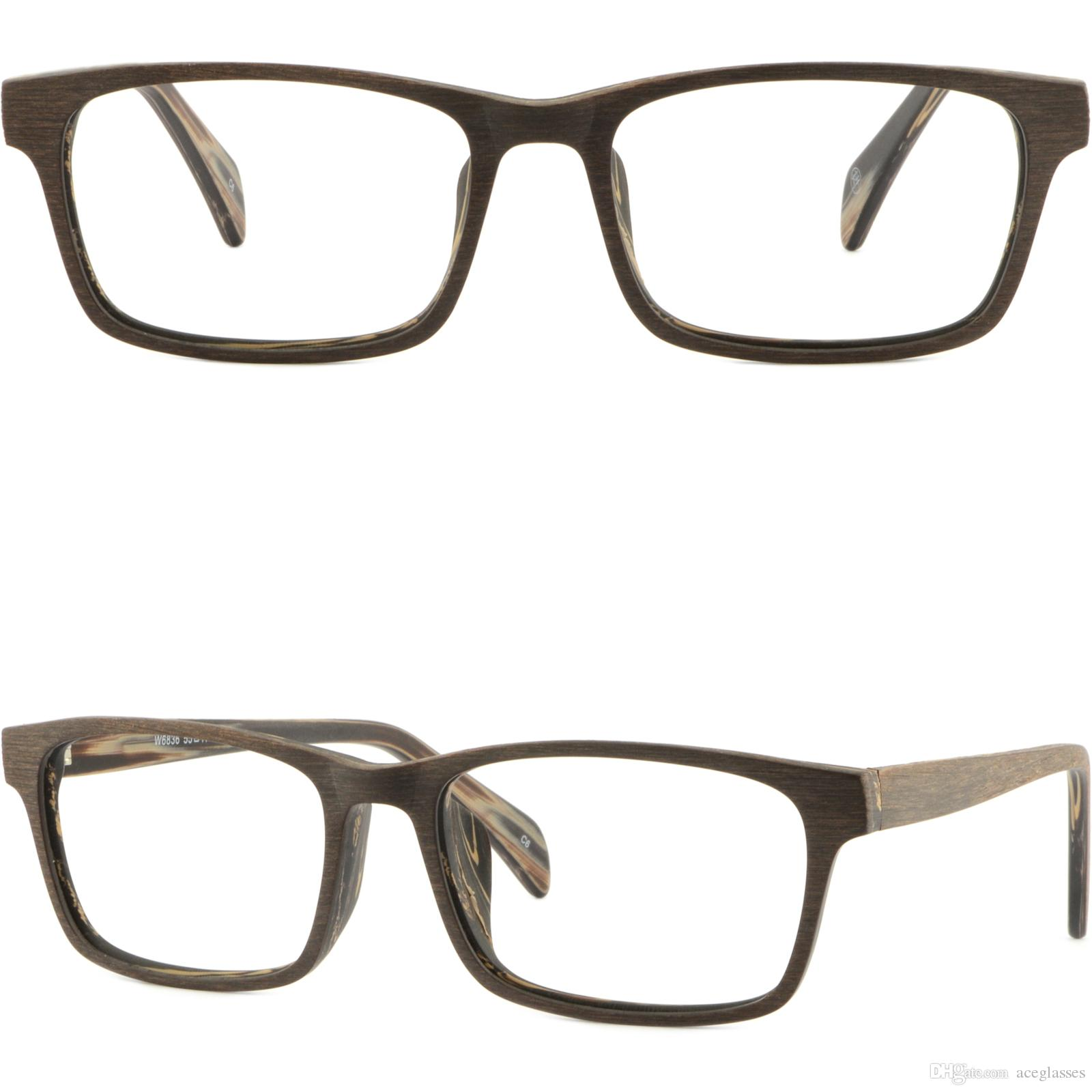 Light Mens Womens Frame Plastic Glasses Eyeglasses Rectangle