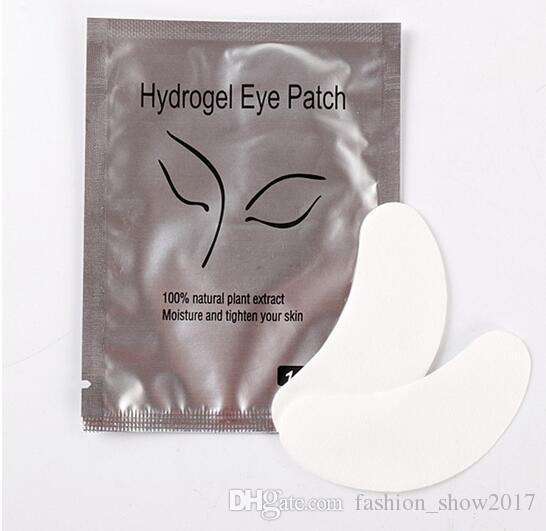 Descartável almofadas do olho Lash Patches papel pestana Extensão Eye Dicas Etiqueta Wraps Make Up Tools pestana Pad