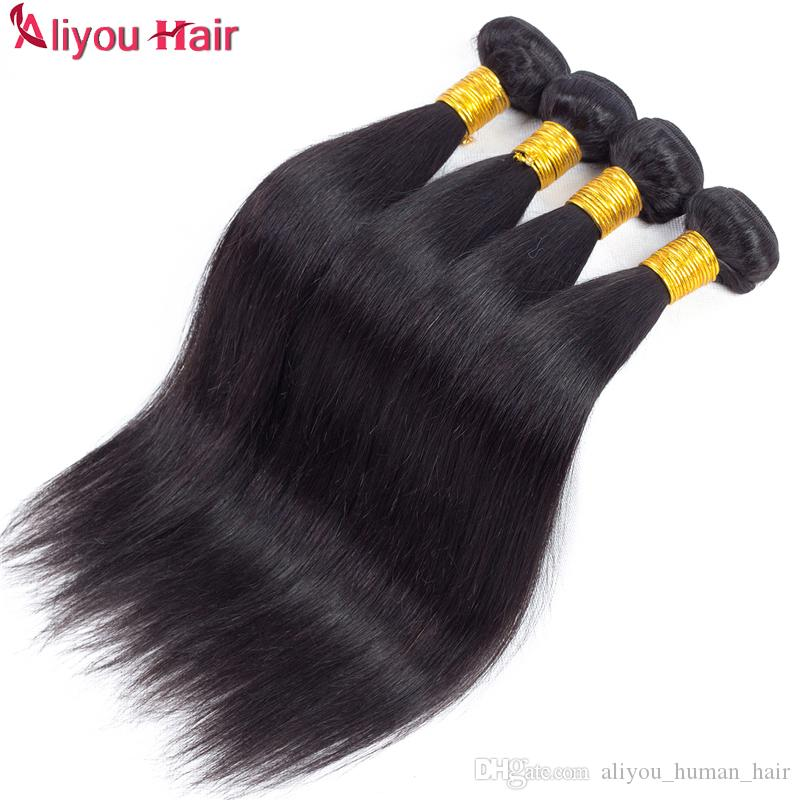 Hot brasiliani del virgin dell'onda del corpo dei capelli eterosessuali peruviani remy tessuto dei capelli umani fasci offerte giornaliere 8a estensioni dei capelli economici non trattati