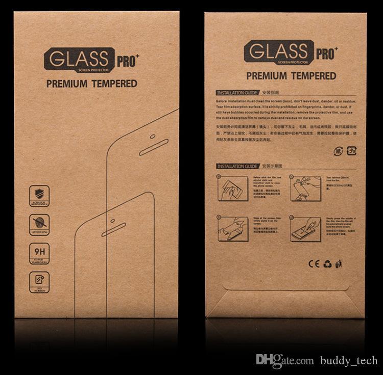 Ultra-Ince 3D Kavisli Kenar Titanyum Alaşım Tasarım Temperli Cam Tam Kapak Ekran koruyucu Için iphone7 / 7 / artı / 6/6 artı / 5/5 s w kağıt paketi
