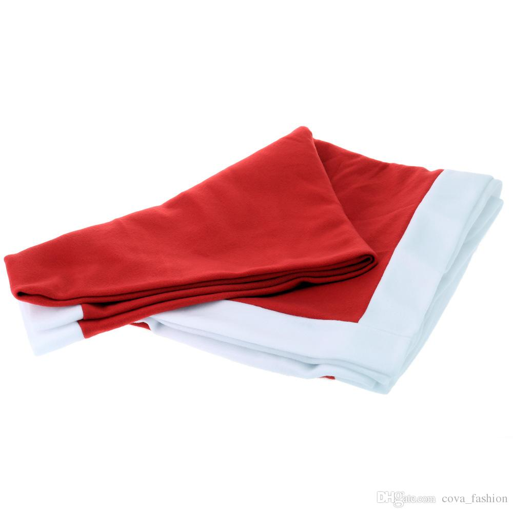 Tablecloth Christmas decoration red Table cloth square flannel 132*178cm dining table covers Banquet Holiday xmas Decorations ELCD041
