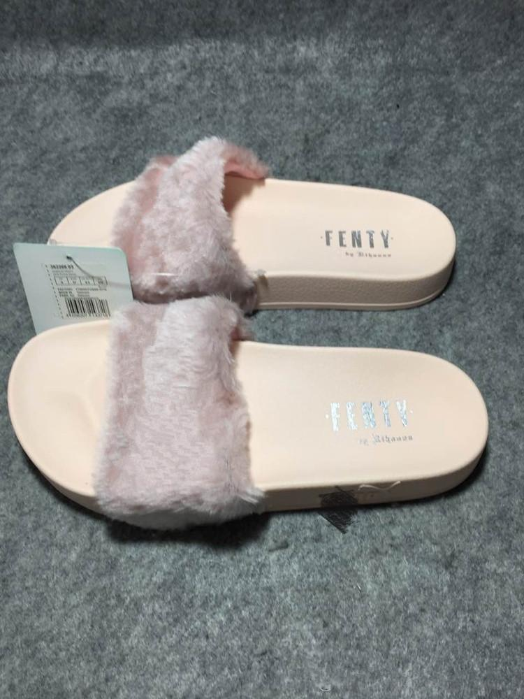 f0c3f9037290 Send With Original Boxes Leadcat Fenty Rihanna Shoes Women Slippers Indoor  Sandals Girls Fashion Scuffs Pink Black White Grey Slide 35 40 Shoe Boots  Fur ...