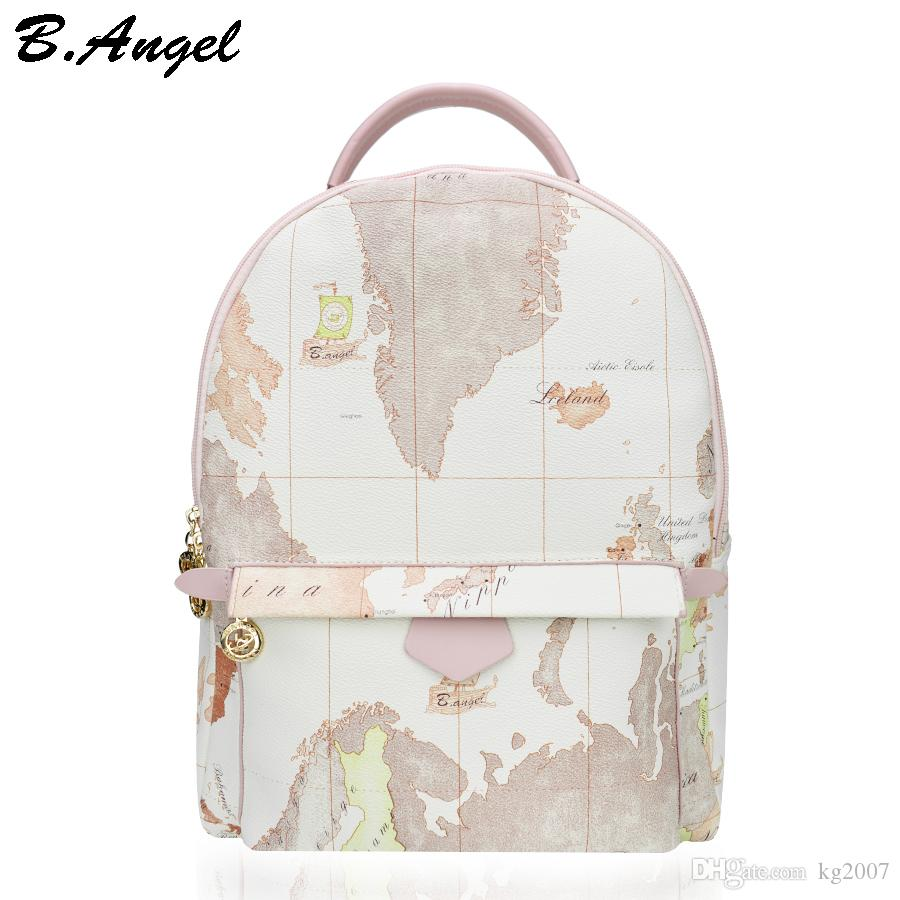 Designer backpack women high quality world map backpack women small designer backpack women high quality world map backpack women small vintage leather women bag travel backpack fashion white bags hc w 8151 gym bags for gumiabroncs Images