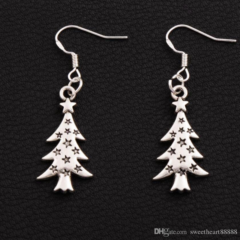 Stud Earrings Earrings Drop Dangle Trendy Newest Ear Stud Earrings Usable Pretty Christmas Ornaments