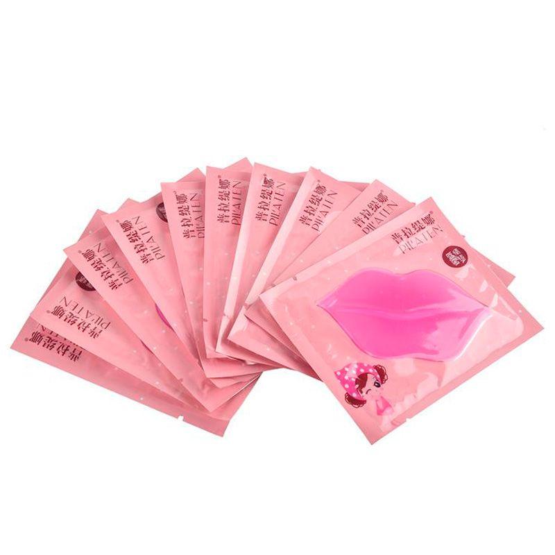 PILATEN Authorized Collagen Crystal Labbra Maschera Idratante Anti-Aging Anti-Rughe Cura delle labbra diluire il labbro trasporto veloce