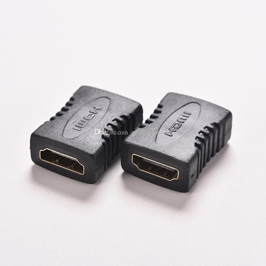 Adaptateur d'extension HDMI vers HDMI V1.4 femelle vers femelle Coupleur F / F pour HDTV HDCP 1080P Connecteur d'extension de câble HDMI