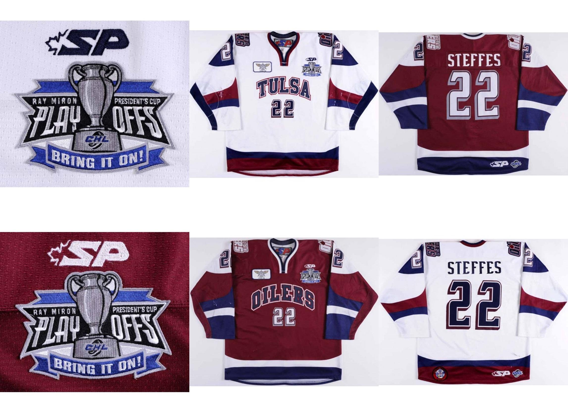 Online Cheap New Chl Tulsa Oilers Mens Womens Kids 22 Gary Steffes