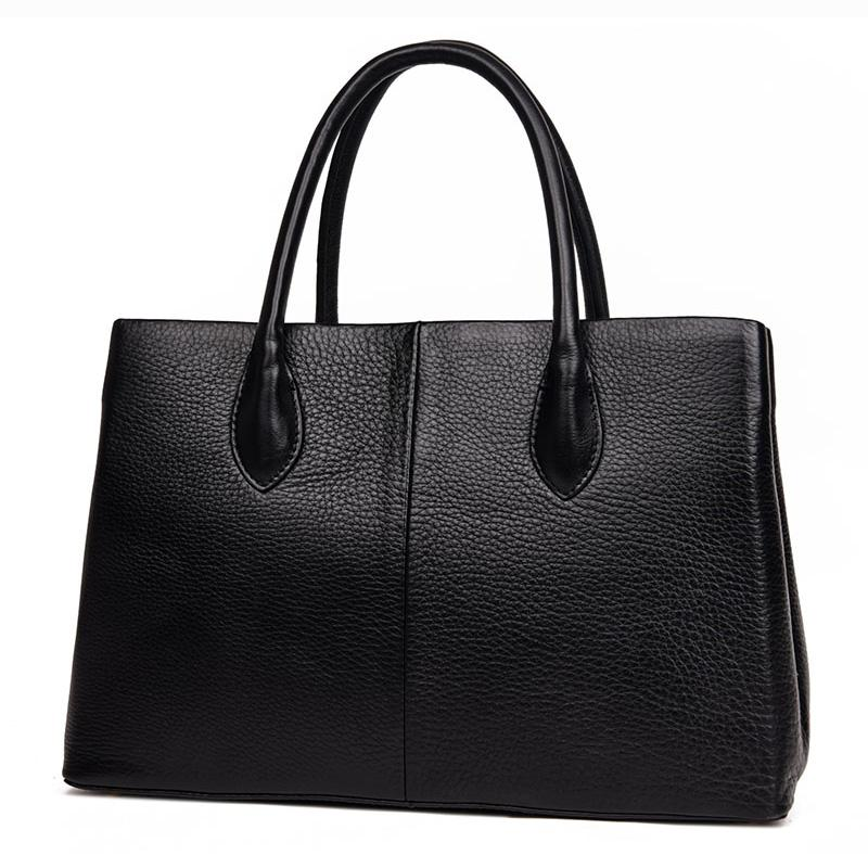 96250d407a Wholesale- 100% Genuine Leather Women Bag New Autumn Socialite ...
