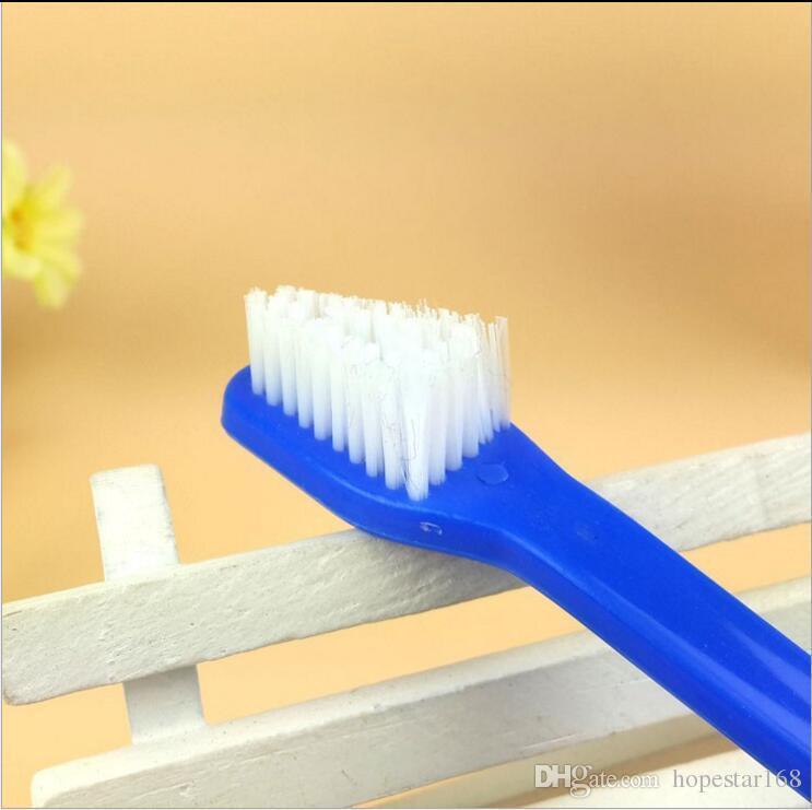 Suprimentos para animais de Estimação Cão Filhote de Cachorro Cão Higiene Dental Dental Escova De Dentes Suprimentos Para Cão Cor Aleatória Enviar Suprimentos Do Cão