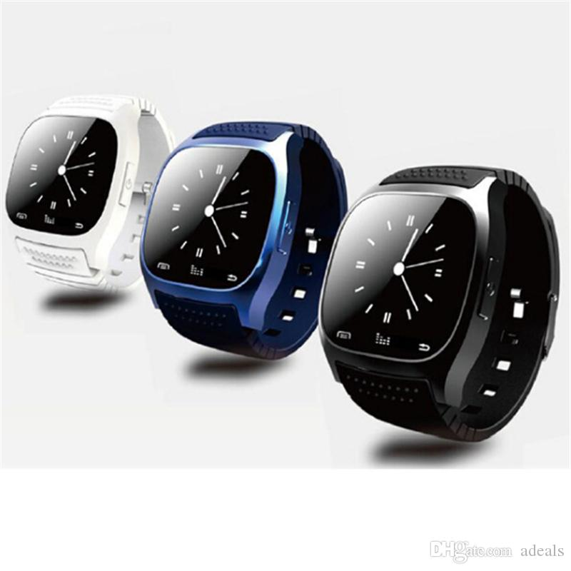 M26 Wearable Smartwatch with Mic HD Camera Bluetooth Android Watch for Samsung HTC LG Sony Smart Watch