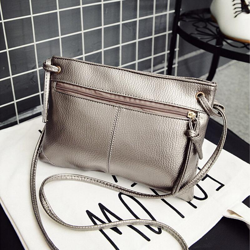 e961ef3036702 Wholesale Small Solid Women Leather Crossbody Bag Flap Zipper Vintage Small  Mini Ladies Slim Sling Shoulder Messenger Bag Handbags Purses Ivanka Trump  ...