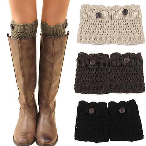 Großhandel Großhandels Frauen Winter Bein Stulpen Acrylon Wolle