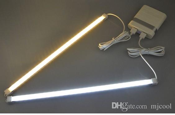 5V 2835 SMD 3014 SMD LED lámpara 30LEDs 35CM USB LED Tubo Tira rígida bombilla Barra de lectura / libro / lámpara de escritorio para luz nocturna