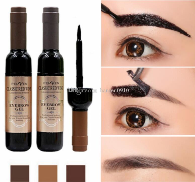 Eyebrow Black Coffee Gray Peel Off Eye Brow Tattoo Shadow Eyebrow