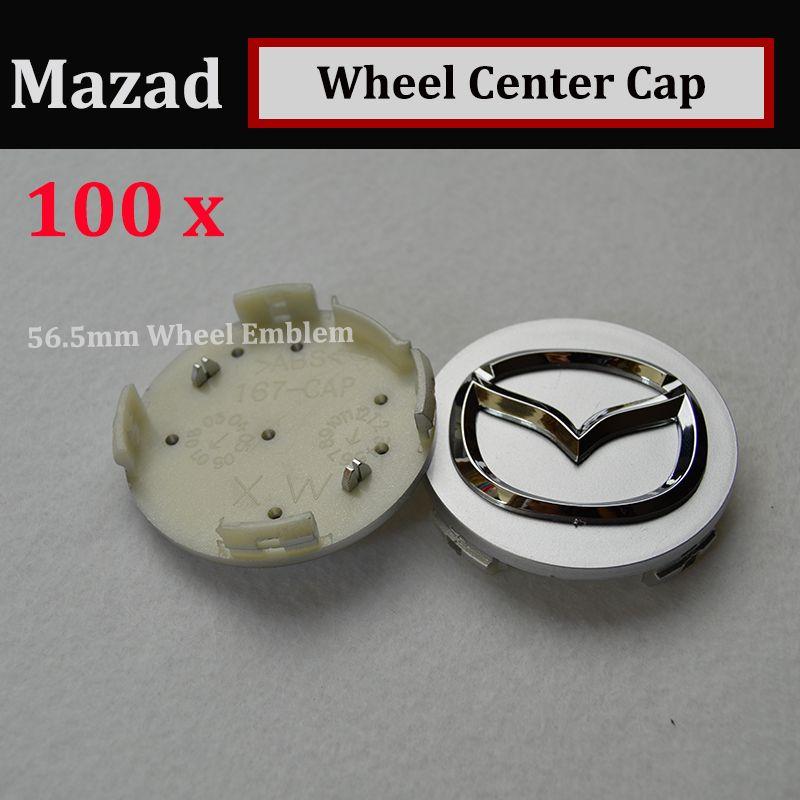 HOT 56mm emblem Auto Wheel Hub Emblem covers for CX 5 7 9 RX MPV MX Car Wheel Center Covers