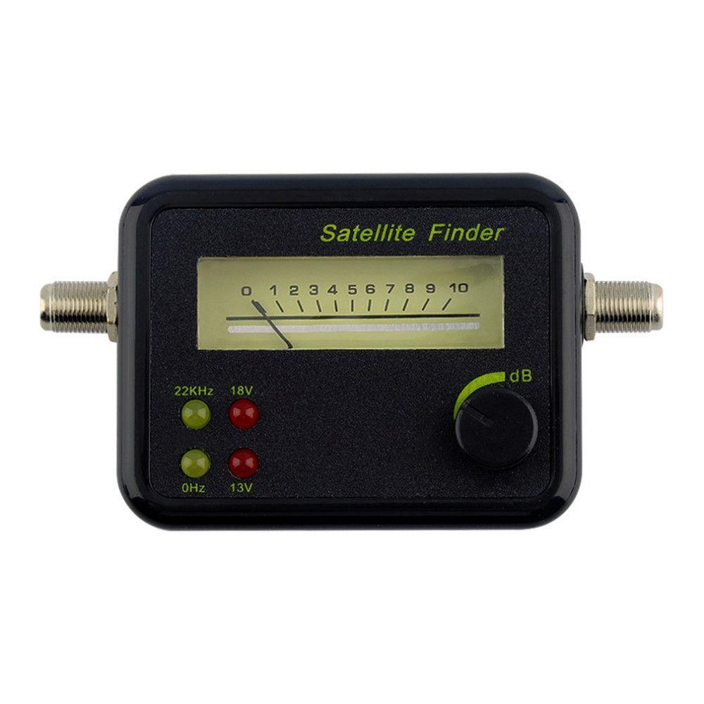 Testeur de compteur de recherche de signal satellite à affichage LCD mini numérique dans le monde entier