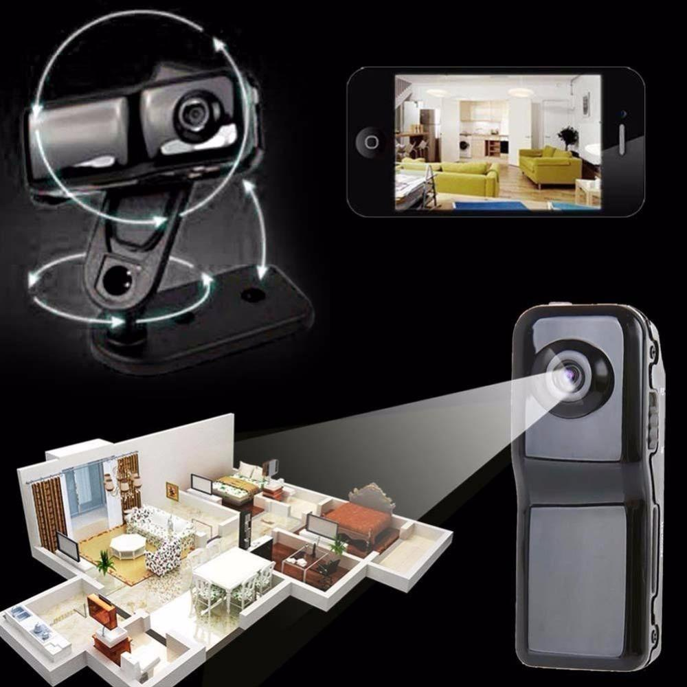 Wholesale-Hidden Mini Camera Wifi P2P Distance Control Wireless Camera Security Recording IP CCTV Android iOS Camcorder Video Webcam