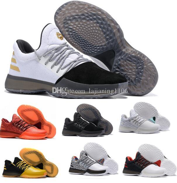 various colors a25eb 266a1 New Harden Vol 1 Basketball Shoes Men Man Hardening Sports Light James  White Shoes Zapatillas Deportivas Homme Sneakers Size 40 46 Shoes Sports  Sports Shoes ...