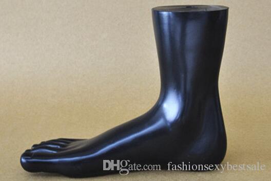 maniquí femenino del pie de foot Mannequin New Arrival brillante para el pie para las mujeres para la exhibición del calcetín, un par de pies, M00542