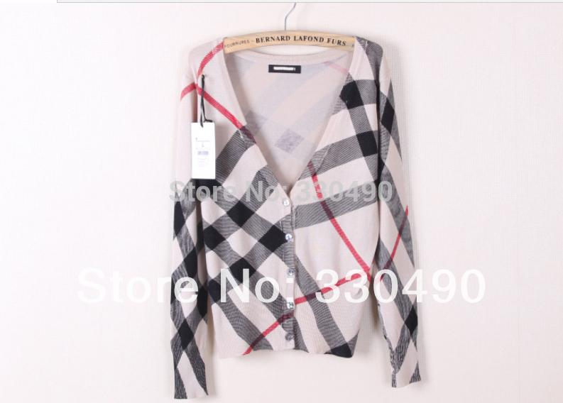 Best Wholesale 2014 Spring Za Womens Sweater V Neck Shell Button
