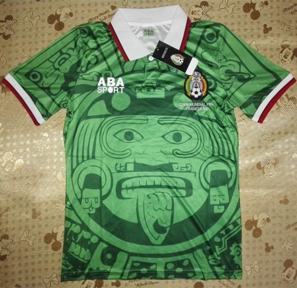 premium selection 8bdc4 fe813 méxico verde retro copa do mundo retro camisas de futebol méxico 1988  camisas verdes netherland alemanha argentina brasil retro jersey beck