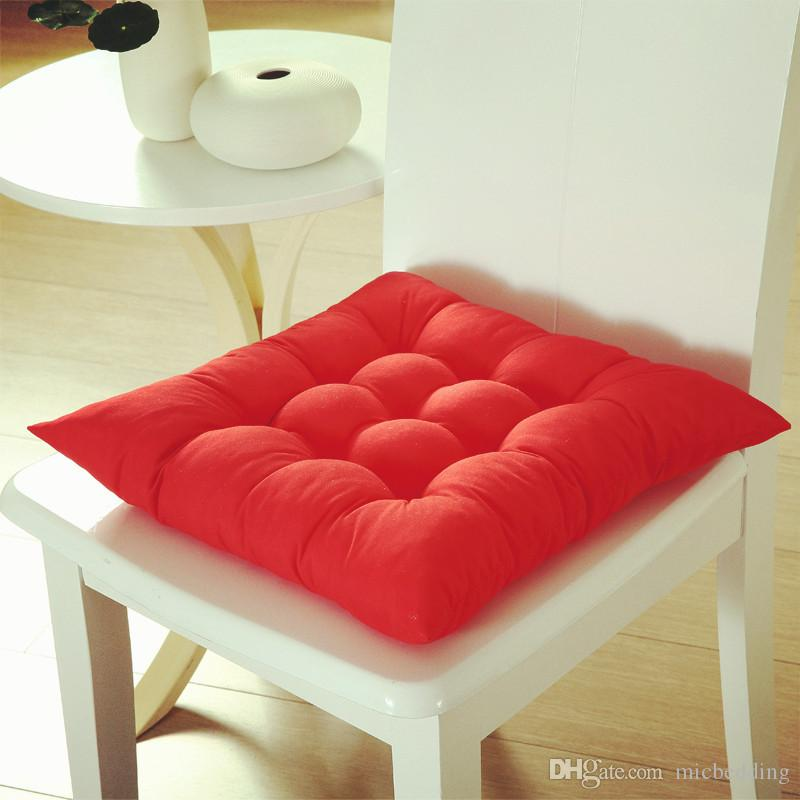 Four Seasons General Grinding Chair Or Tatami Mat Thickening Cushion  Microfibre Solid Color Fabric Beautiful Buttock Function 40*40cm Wicker  Patio Cushions ...