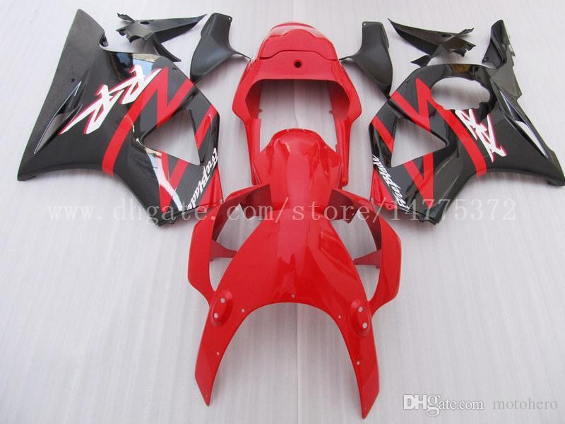 Brand new fairings fit for HONDA CBR900RR 954 2002-2003 CBR900RR 02-03 CBR900 RR 2002-2003 954 fairing kits #8n45t Red black