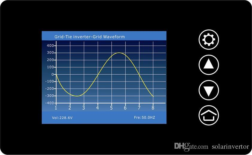 MPPT 2000W Wind Power Grid Tie Inverter with Dump Load Controller/Resistor for 3 Phase 45-90v wind turbine generator