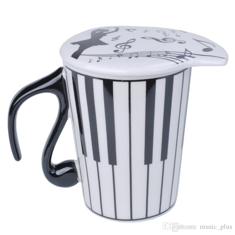 Creative Céramique Clavier Café Lait Jus Citron Mug Tasse De Thé avec Couvercle Pour Saint Valentin Cadeau Cadeau De Professeur
